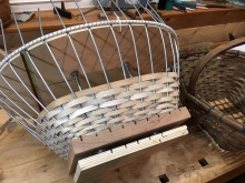 weaving clam basket